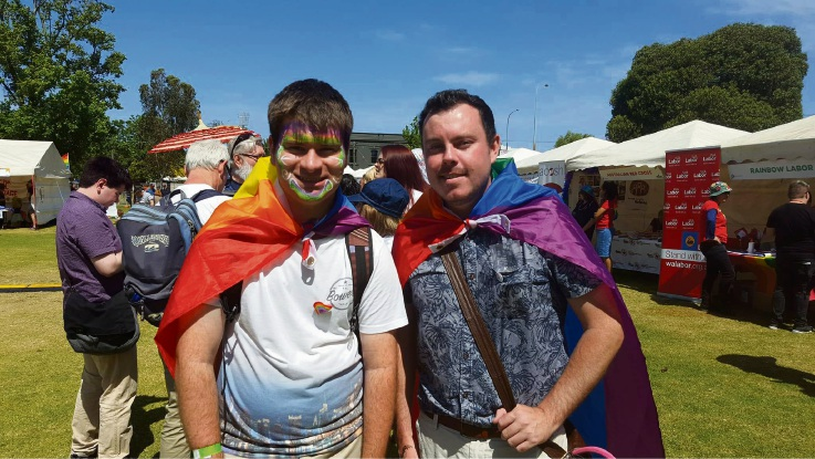 Fairday: hundreds gather at Birdwood Square for WA Pridefest event
