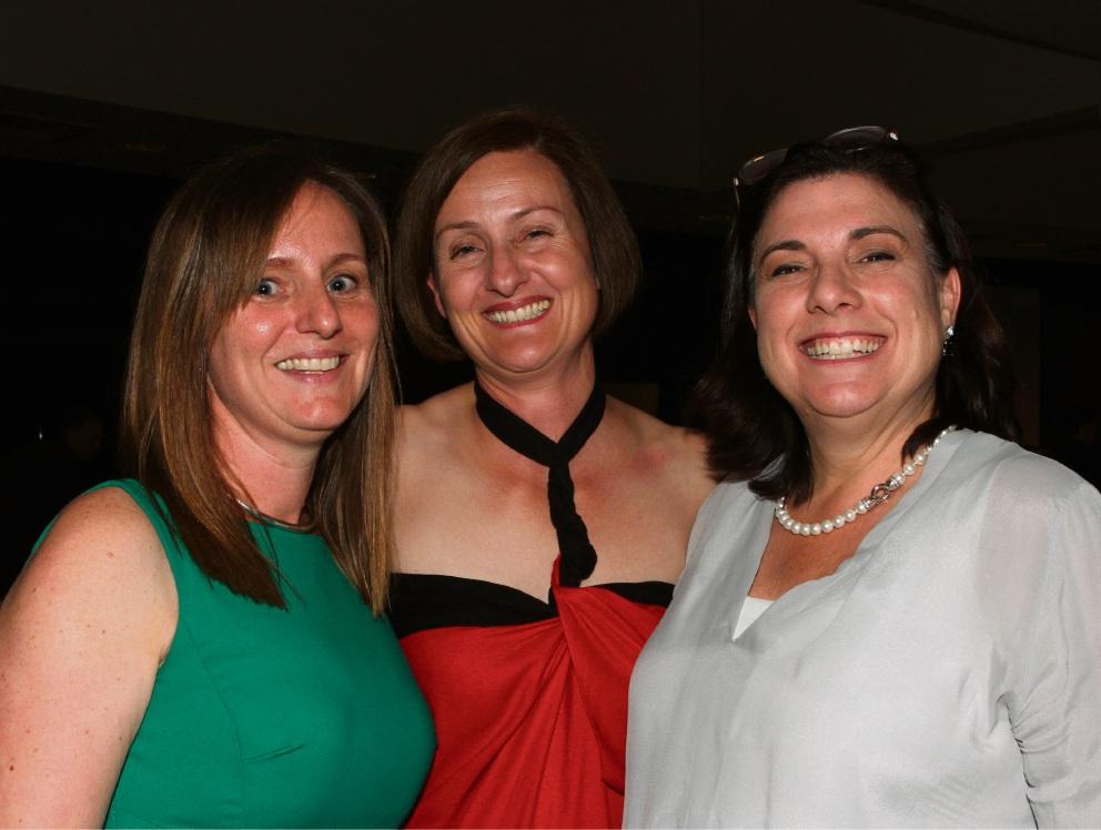 Lucy Westcott, Franca Sala Tenna and Lisa Rowley.