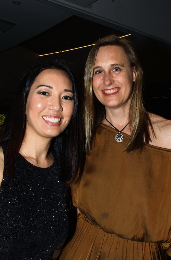 Karen Cheng and Simone Eley.