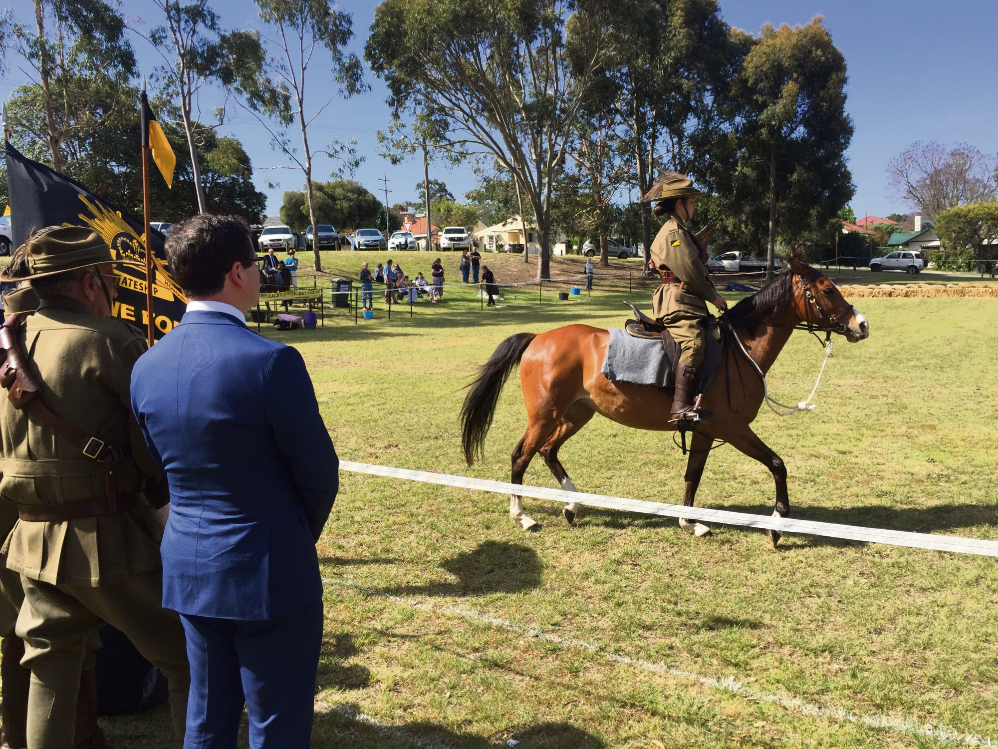 The Kelmscott-Pinjarra 10th Light Horse were part of a Battle of Beersheba memorial and re-enactment event on the weekend.