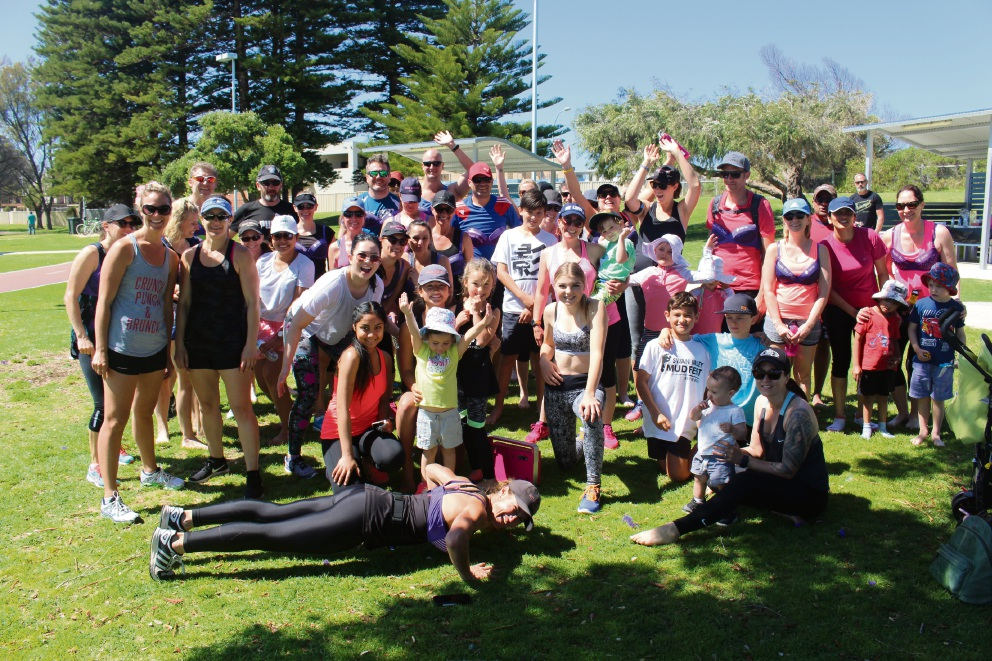 The Wow Fitness Perth bootcamp for Breast Cancer Care.