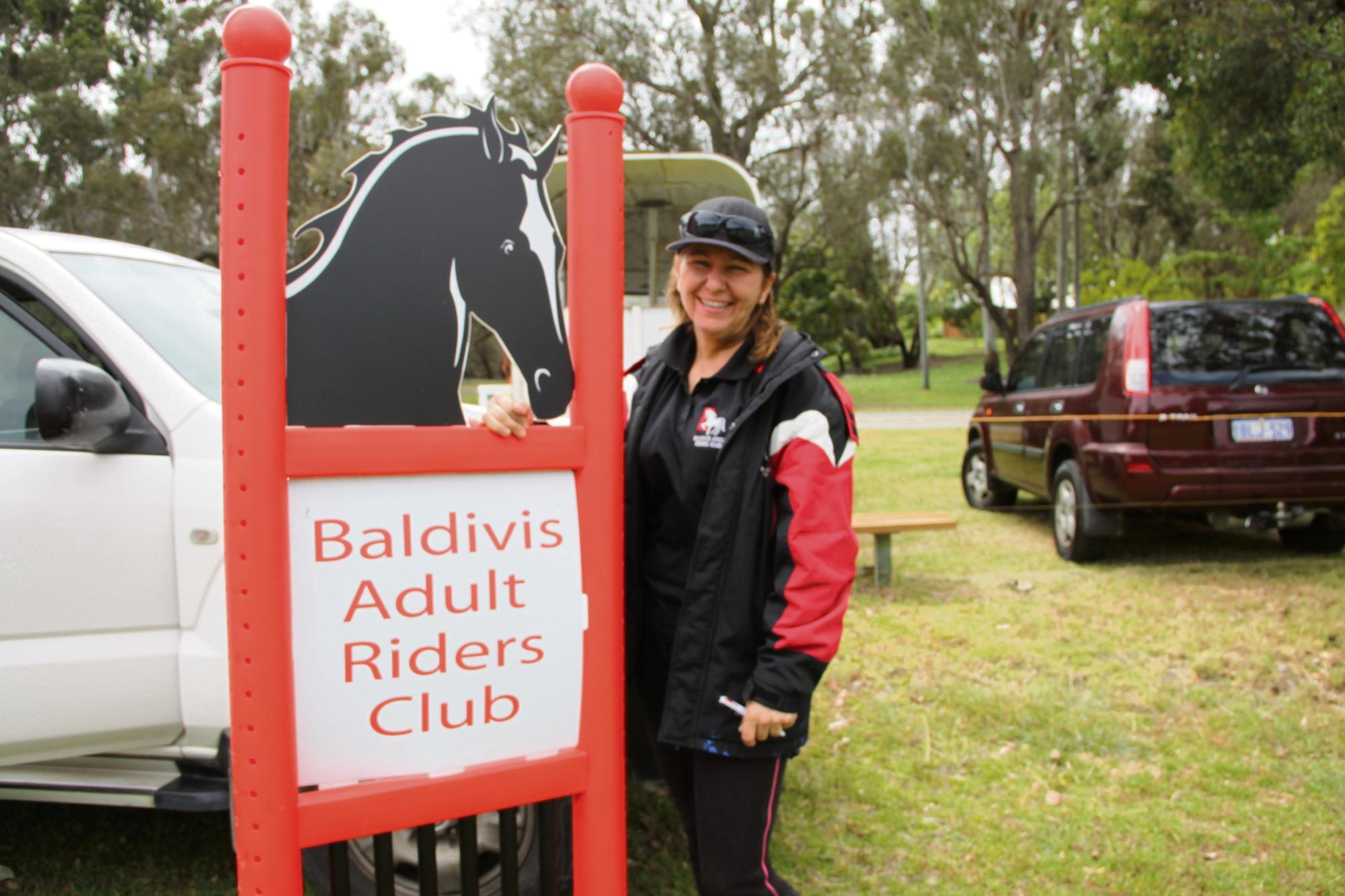 Lisa Reeson of Baldivis Riders Club.