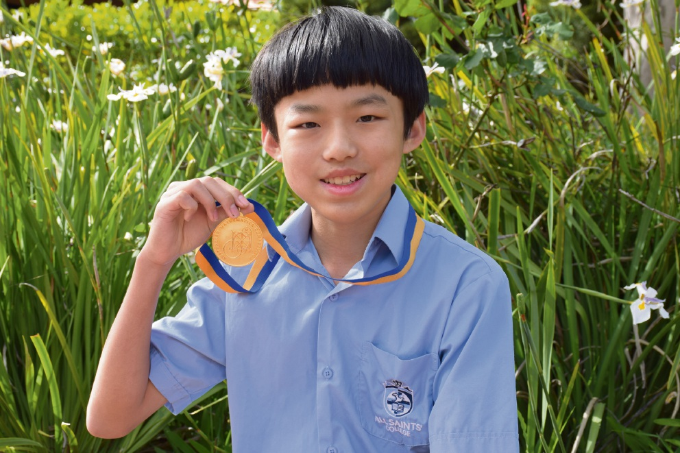 All Saints' College student Xiaoyu Chen.