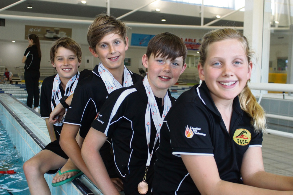 Eben Prinsloo (11), Thomas Dreverman (10), Declan Mould (10), Jessica Fry (11).