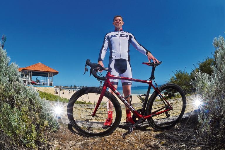 KD Cycles owner Daniel Gray. Picture: Jon Hewson www.communitypix.com.au d475553