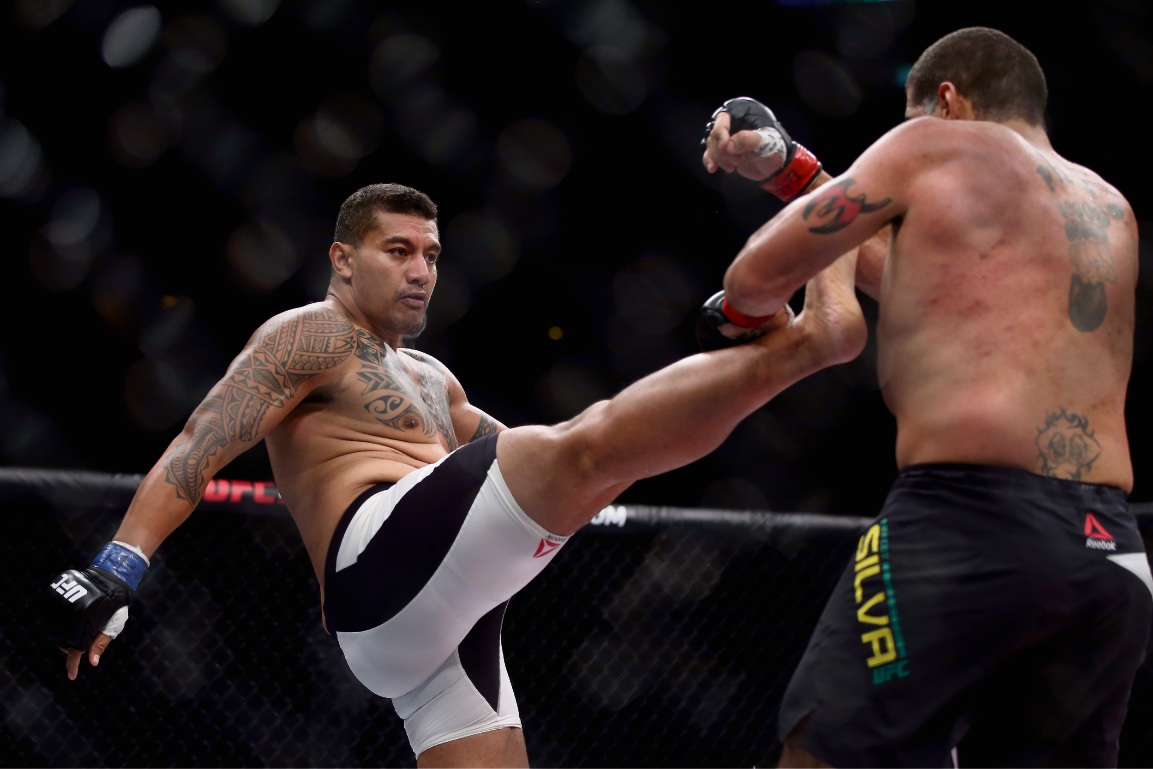 Soa 'The Hulk' Palelei, who last fought in the UFC in 2015, says he should know by the end of the week if he will make a return to the octagon and compete at a landmark Ultimate Fighting Championship (UFC) event in Perth in February. Picture: Matthew Stockman.