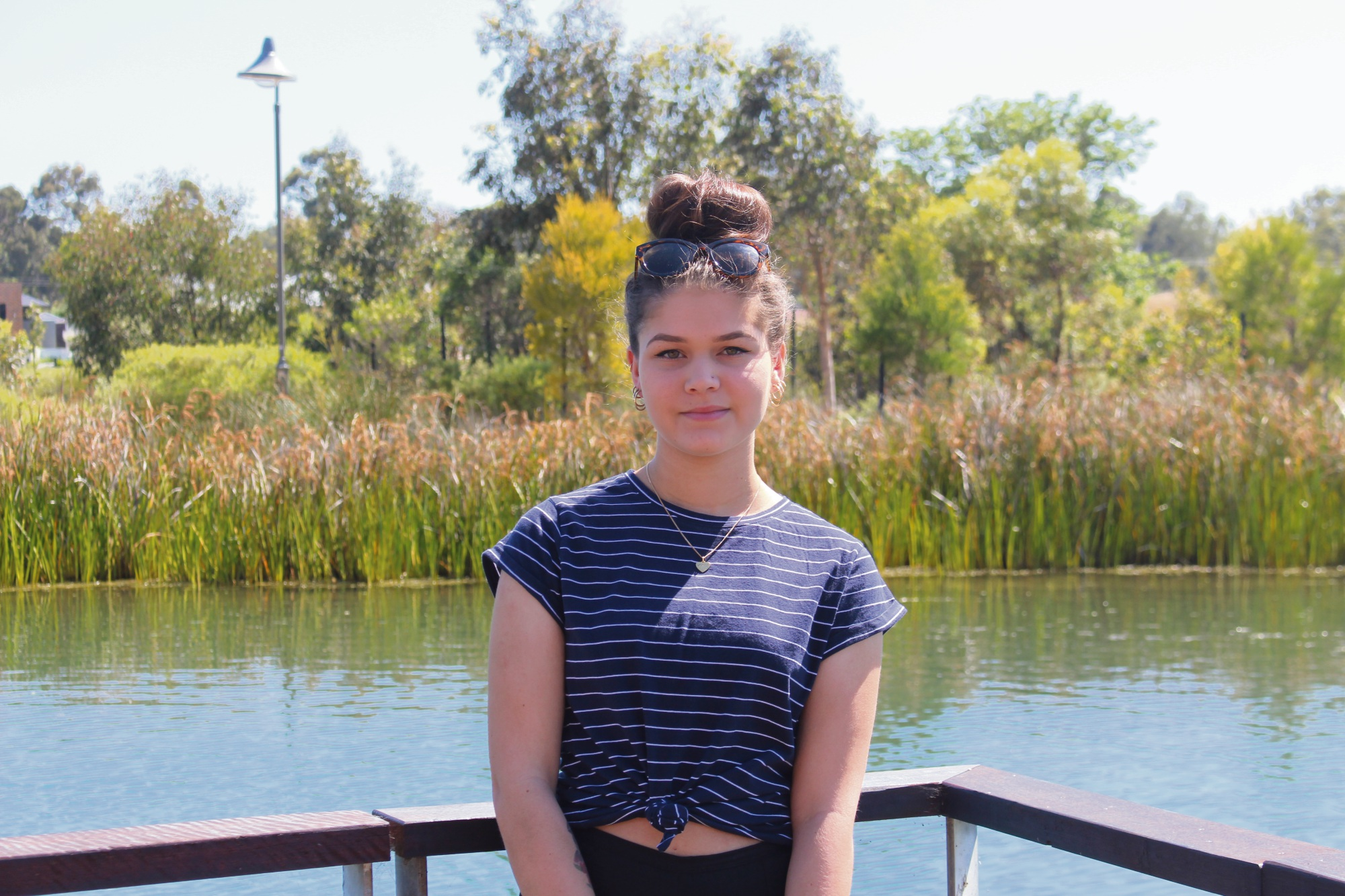 Cheyenne Eakin is off to Hong Kong as part of the International Youth Exchange Program.