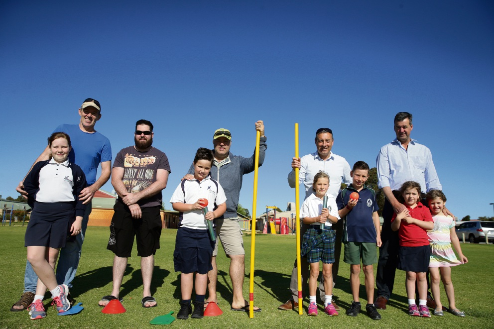 Currambine PS dads throw down challenge to other father figures ahead of 'Fathering Project Games'
