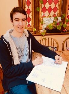 Best Senior Secondary Animation prize winner Rory Dalitz.