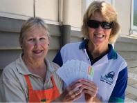 Peel Community Kitchen assistant co-ordinator Kerry Vrossink and Mandurah Masters social officer Glenda Hurtado.