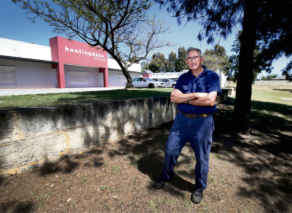 Huntingdale resident Murray Sharpe is outraged at the City of Gosnells' council decision to approve a liquor store.