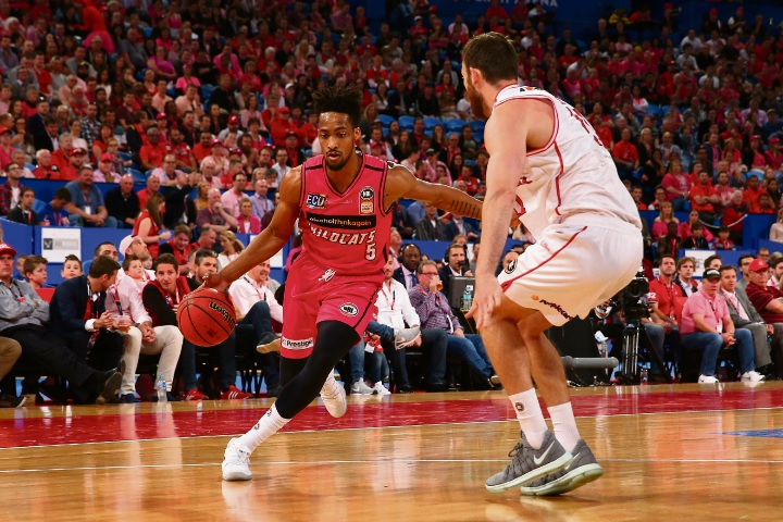 JP Tokoto starred against Illawarra. Picture: Getty Images