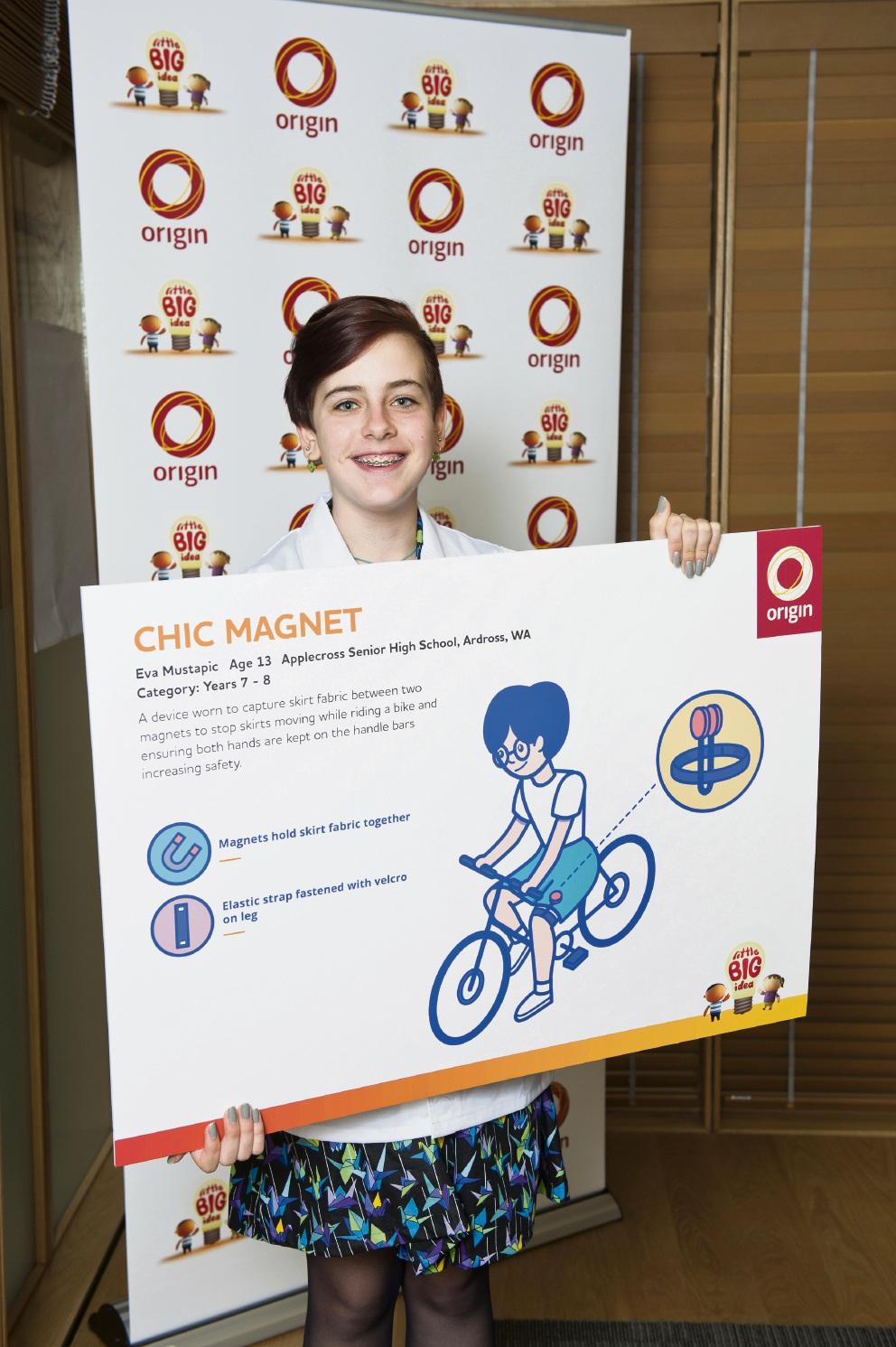 Chic Magnet inventor Eva Mustapic.