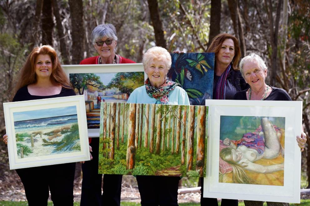 Christine Farrell (Clarkson), Marilyn Boast (Beldon), Liz Ougarezos (Two Rocks), Zelda Hill (Duncraig) and Suzi Logue (Two Rocks). Picture: d475407