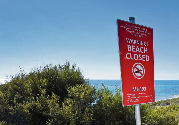 Cottesloe beaches closed following shark sighting