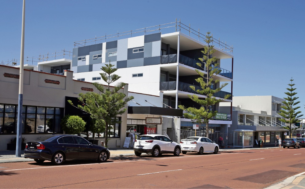 99 Flora Terrace in North Beach. Picture: Martin Kennealey d475336