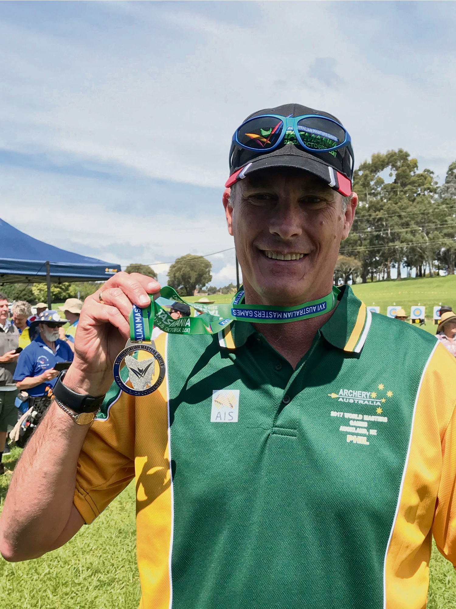 Phil Arthur recently returned from the Australian Masters Games.