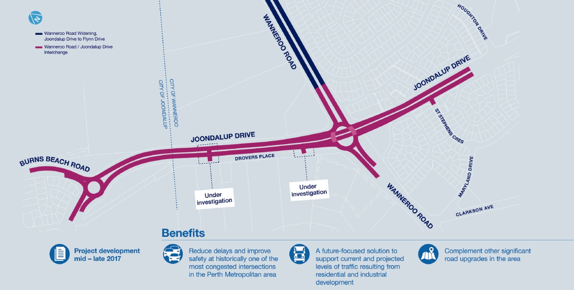 Carramar and Tapping Residents Association to discuss proposed Wanneroo Road-Joondalup Drive interchange at meeting