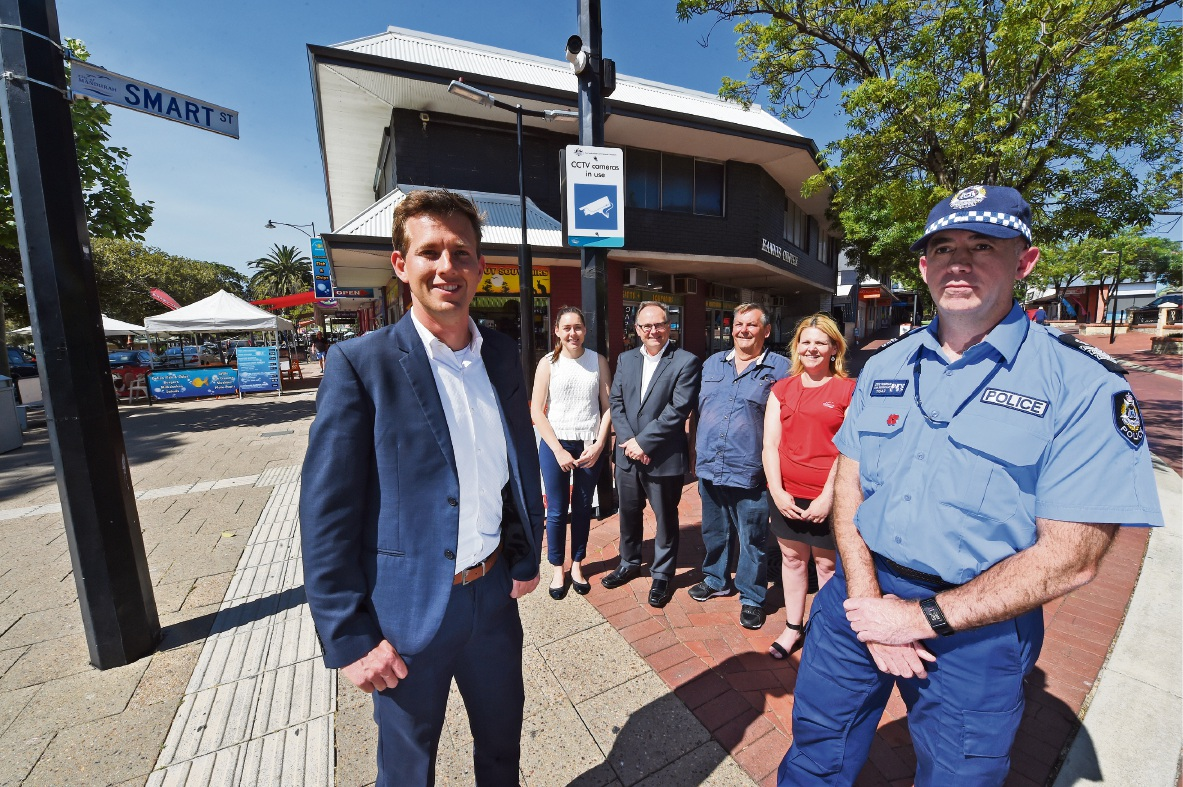 Big brother will be watching with $350,000 for CCTV cameras in Mandurah