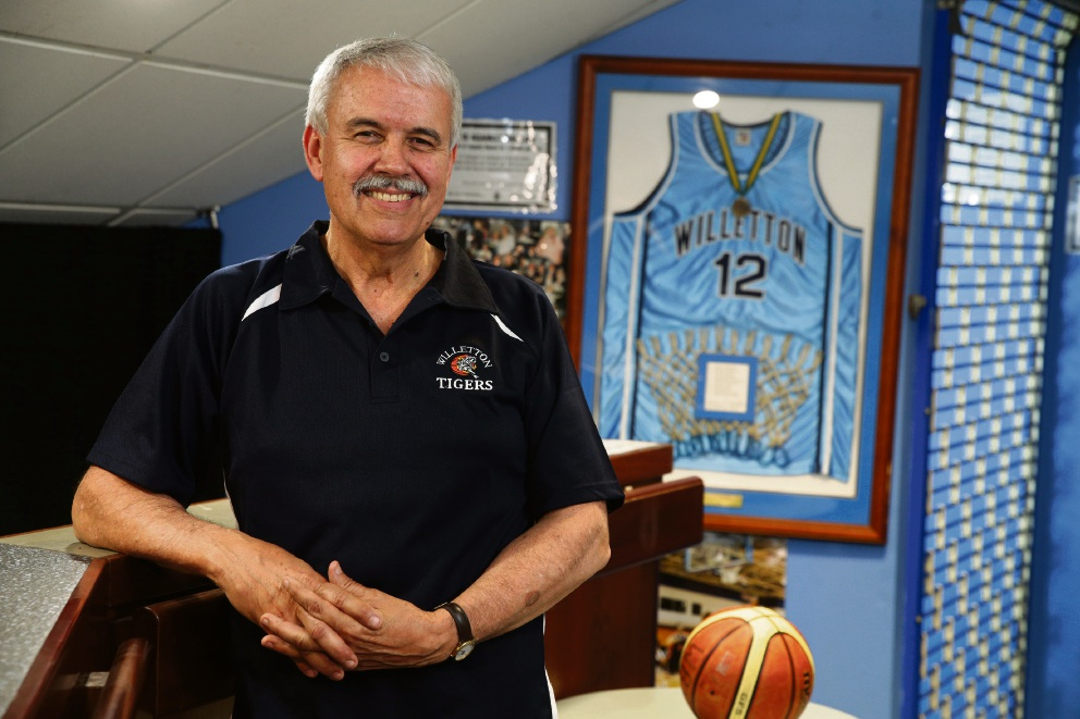 Willetton Tigers Basketball team president Phil Nixon. Picture: Martin Kennealey d474696