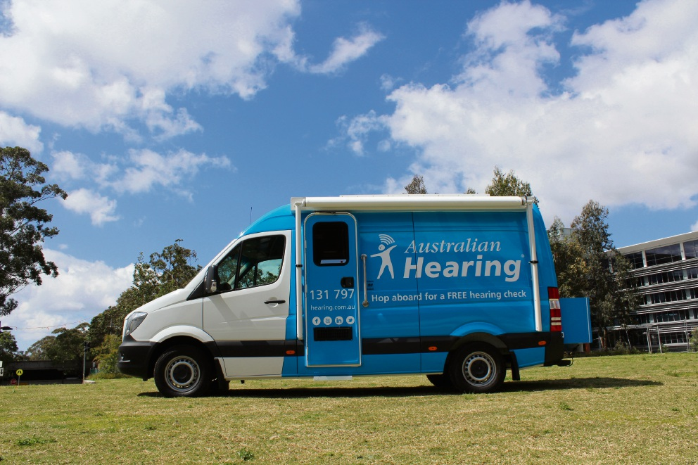 The Australian Hearing bus will be in Gingin on November 22.