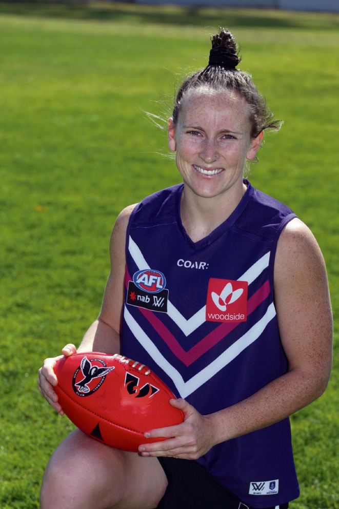 Kara Donnellan looks forward to the camaraderie of AFLW. Picture: Bruce Hunt d475708