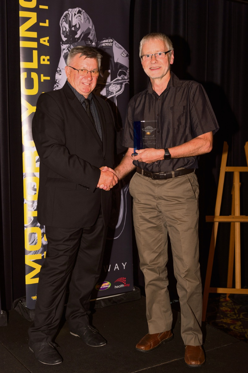 Motorcycling WA Hall of Fame inducts Robert O'Leary