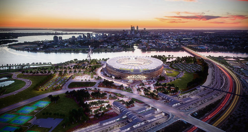 Perth Stadium becomes Optus Stadium