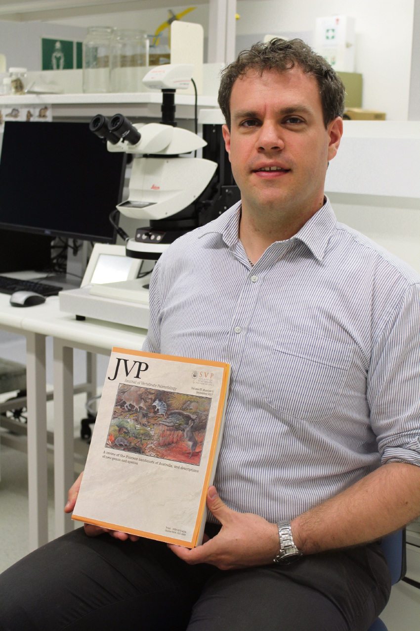 Victoria Park resident Dr Kenny Travouillon's work has been featured in a prestigious journal.