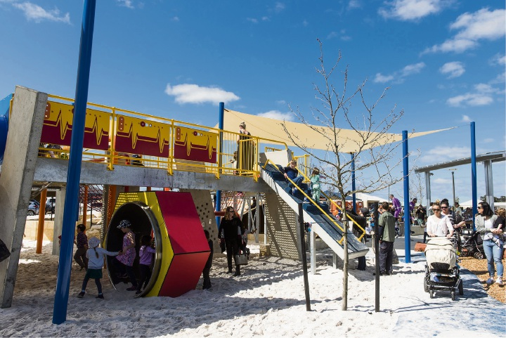 Kids can celebrate the Robot Park's first birthday at a special event this weekend.