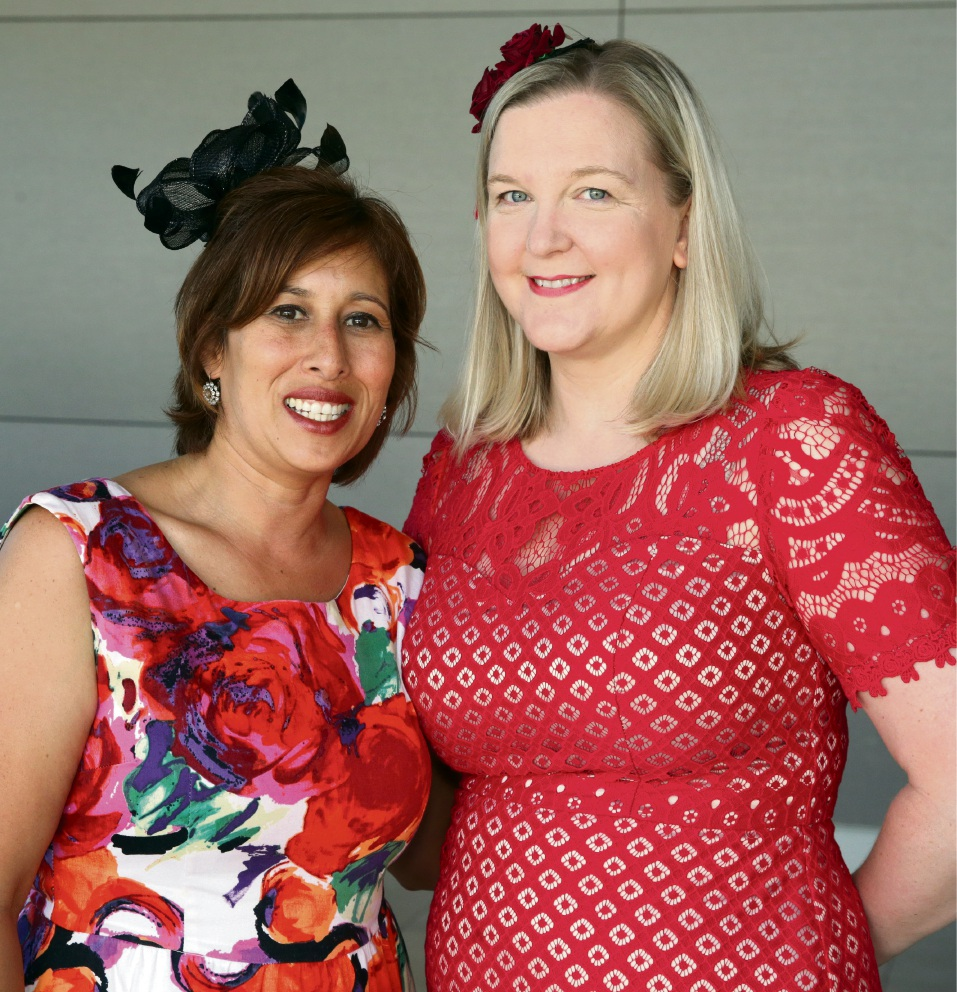 Stephanie Griffiths (Beldon) and Renee Forrest (Woodvale)at Joondalup Resort.