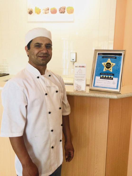 Citrus Indian Restaurant, Leeming is a City of Melville five star business.
