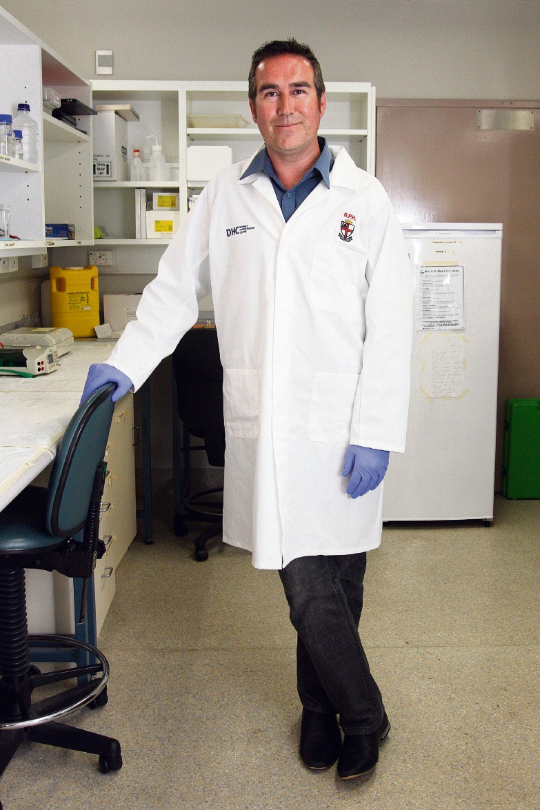 Diabetes researcher Vance Matthews.