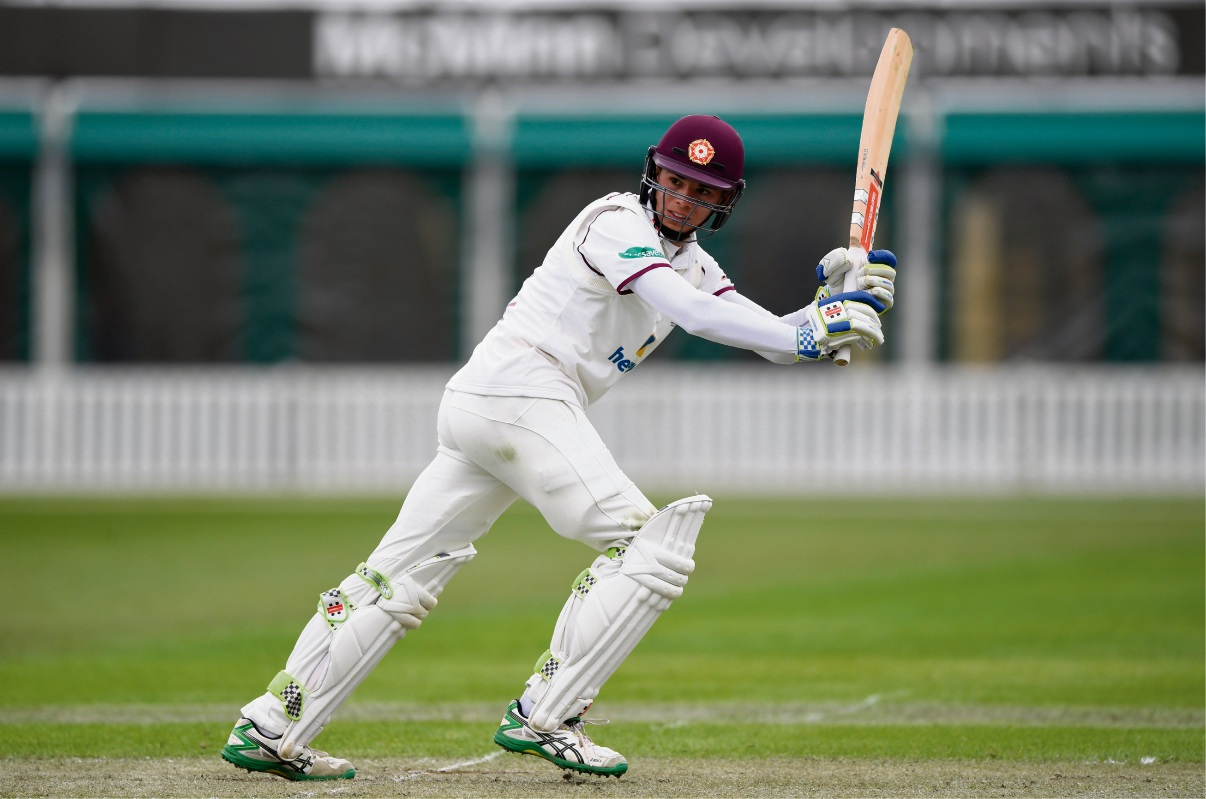 Max Holden in action for County division two side Northants. Picture: Getty Images