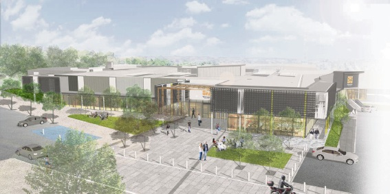 Artist's impressions of the Wanneroo Central redevelopment.