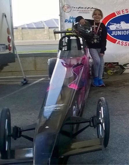 An eight-year-old girl has passed away after a crash at Perth Motorplex