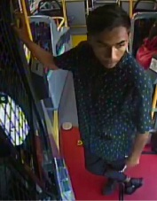 Warwick: police looking for man who spat in bus driver's face