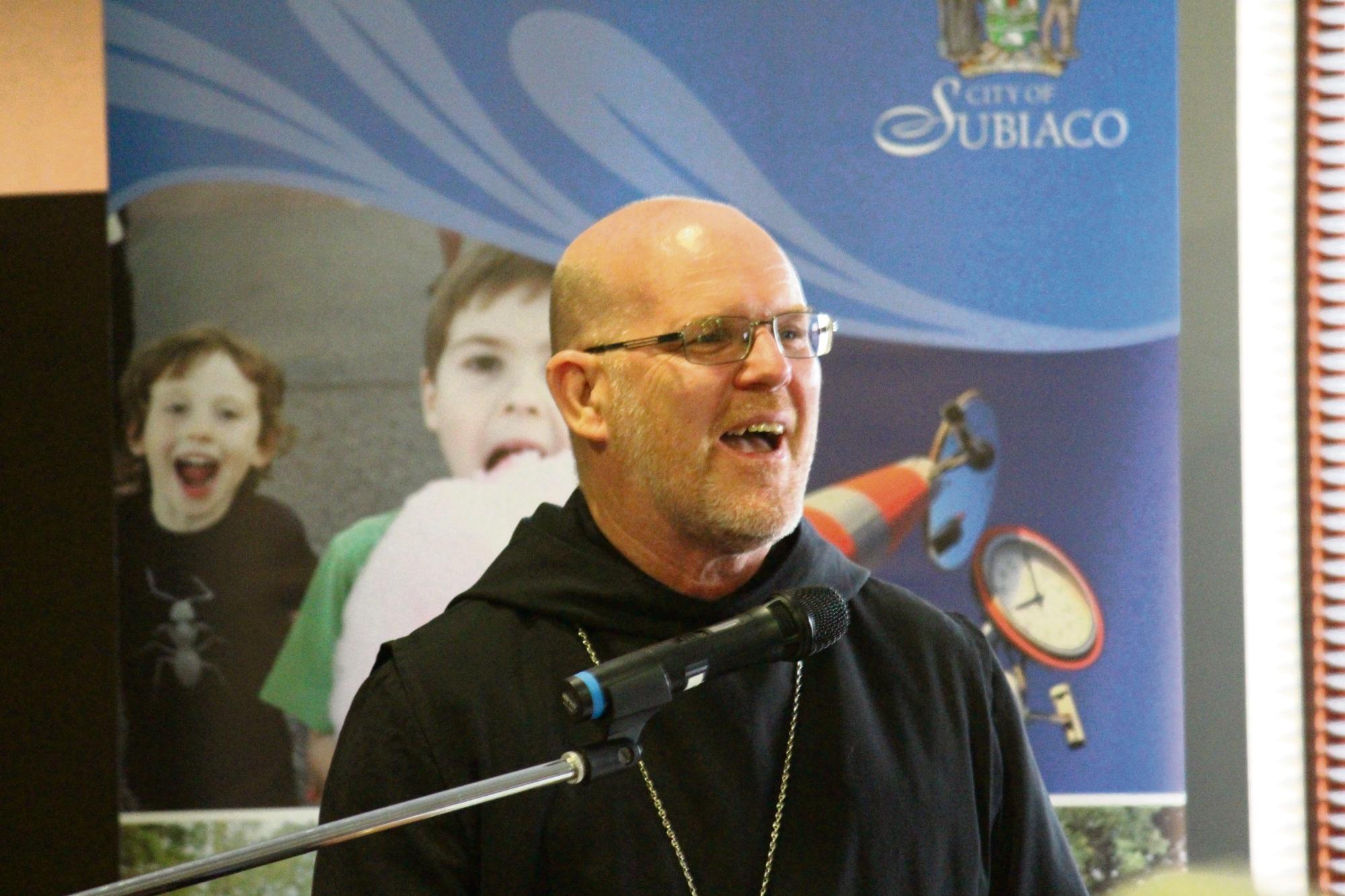 New Norcia Abbot John Herbert.