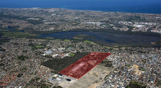 Stockland plans to create almost 700 residential lots on the Ingham's site.
