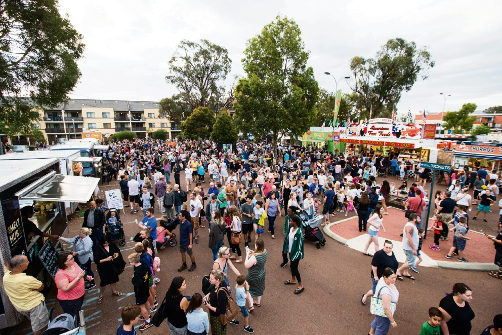 Joondalup's Kaleidoscope Festival brings 88,000 people to city centre
