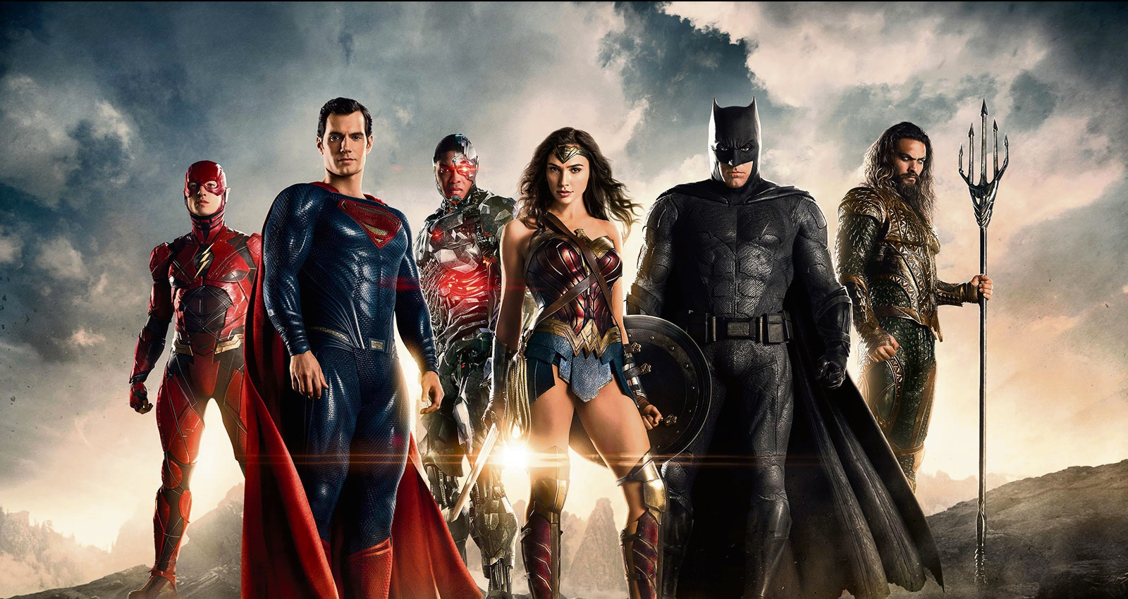 Justice League review DC's brooding mash up of superheroes also fun energetic and entertaining