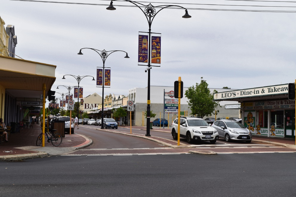 Maylands town centre. Picture: Kristie Lim