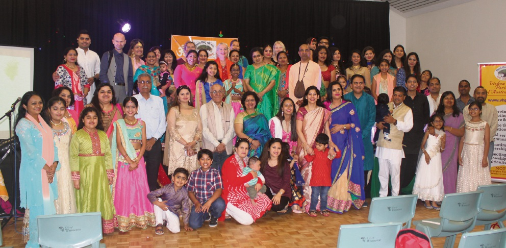 The Vishva Hindu Parishad of Australia WA Chapter recently celebrated Diwali in Carramar.