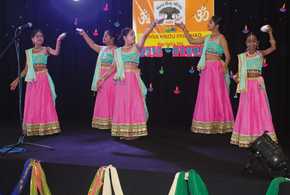 Carramar: Vishva Hindu Parishad of Australia's WA Chapter celebrates Diwali