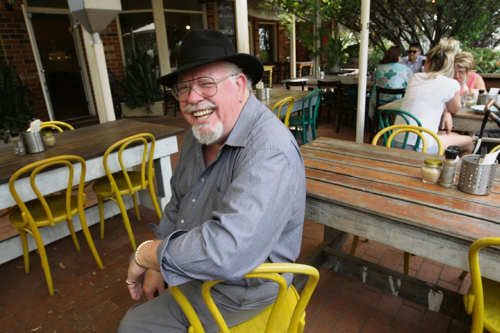 Douglas Sutherland-Bruce at the Little Guildford, one of his favourite restaurants in Perth.
