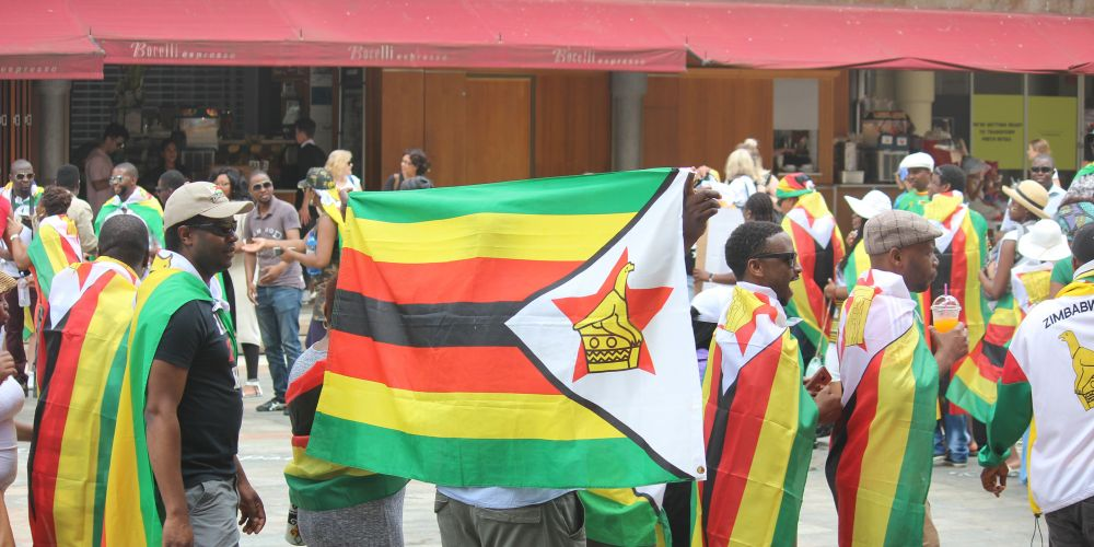 Zimbabweans gather in Perth to rally for president Robert Mugabe to step down