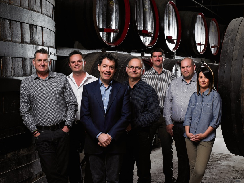 Penfolds winemaking team.