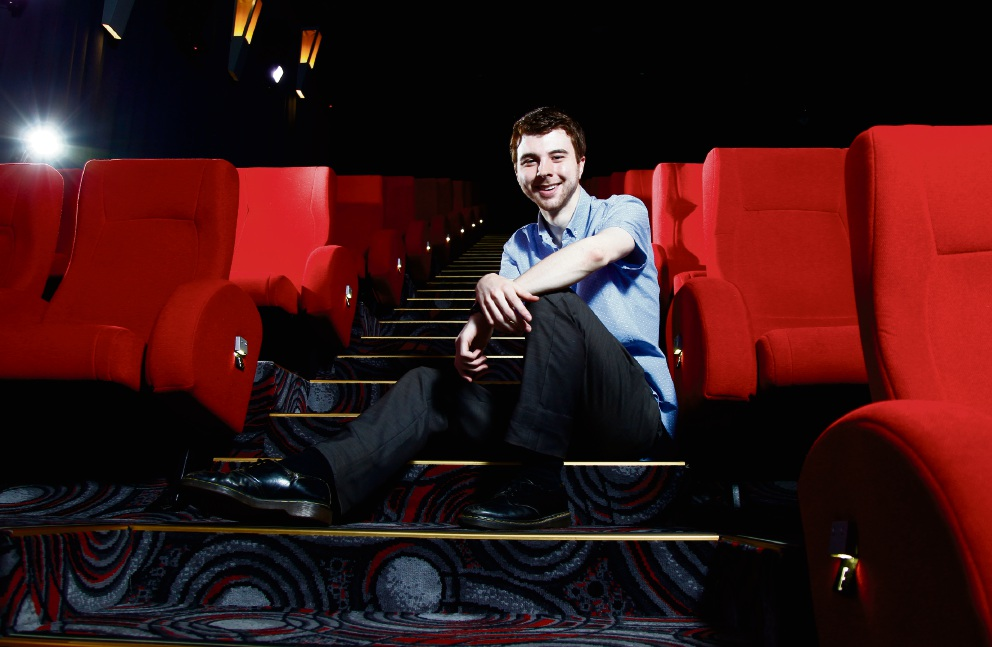 Filmmaker Jordon Prince-Wright will premiere his first feature film The Decadent and Depraved next month. All the seats are already sold out for his screening Picture: Marie Nirme www.communitypix.com.au d476126