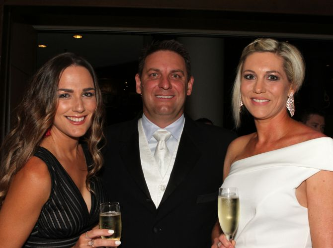 Hollie Durack and Tim and Mandy Lagana
