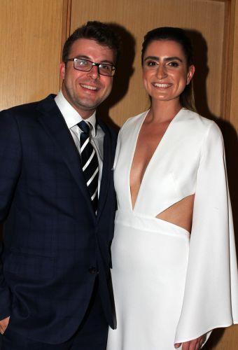 Jason O'Meara and Rhona Maclean